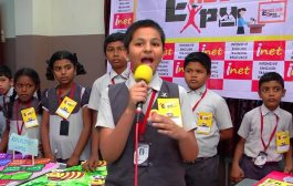 INET's Expo - Foot Prints | Baby Thamizhini | Royal Park Scho...