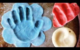 EASY DIY SALT DOUGH IMPRINTS!...