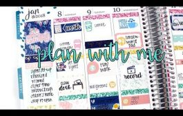 """Plan with Me: Scribble Prints Co """"Serendipity"""" 