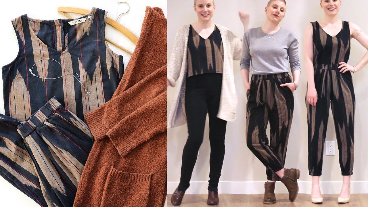 10+ Ways to Wear a Matching Set | Versatile Capsule Wardrobe...