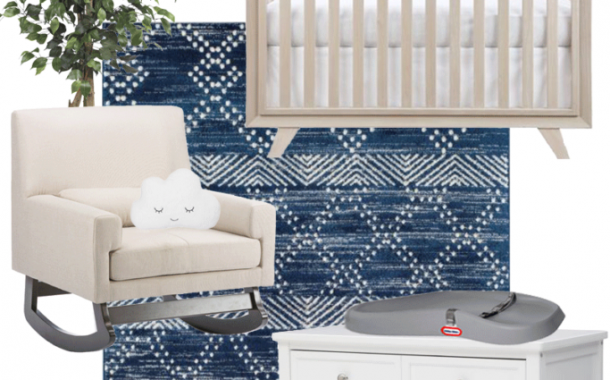 How to Design a Nursery for Less than $900...