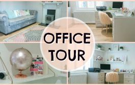 OFFICE TOUR & ROOM TRANSFORMATION |  EMILY NORRIS  AD...
