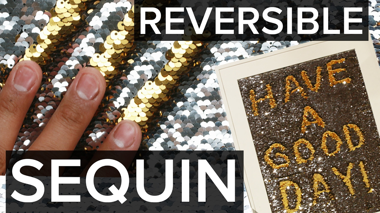 4 Creative Ways To Use Reversible Sequin Fabric...