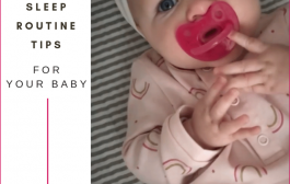 4 Tips to Create a Consistent Sleep Routine for Your Baby...