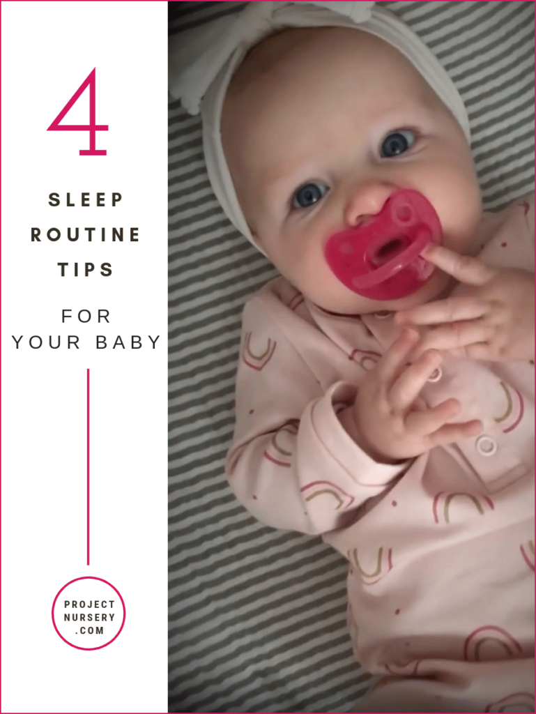 Sleep Routine Tips for Your Baby
