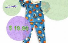 Saras Prints - Toddler Boys Cotton Pajamas, Blue...