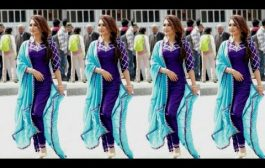 Plain Suits With Matching Dupatta || Punjabi Suit Salwar Designs...