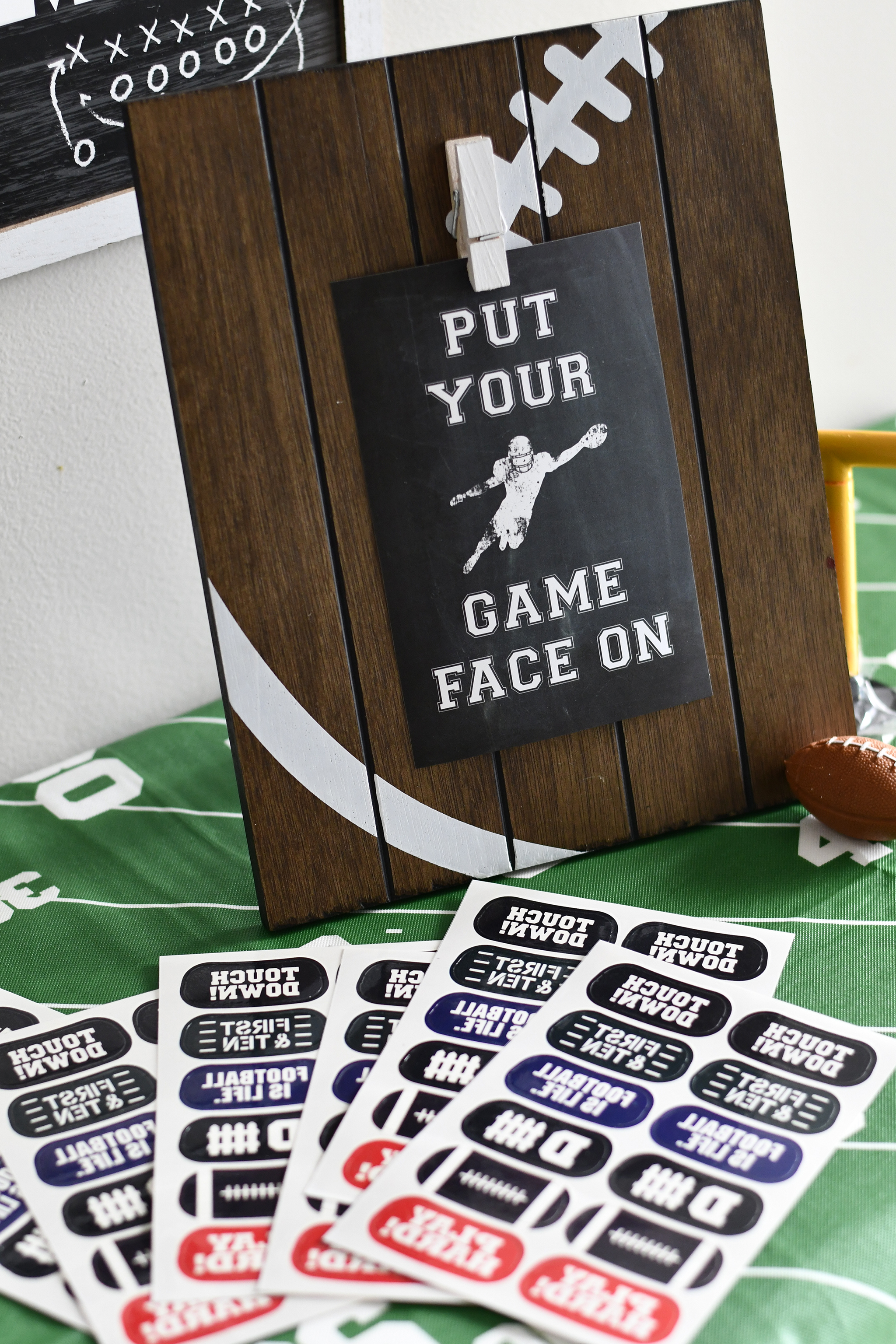 Put your Game Face On!