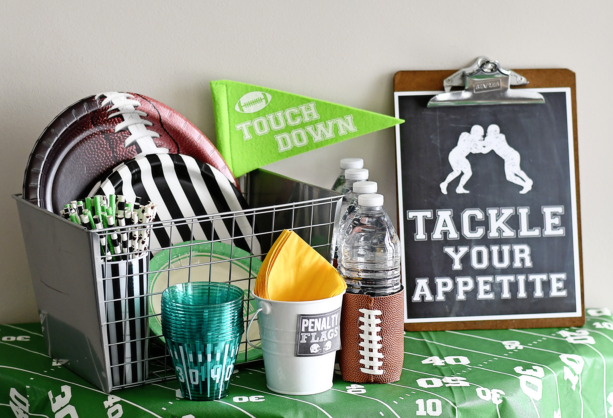 Tackle your Appetite on Game Day!