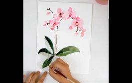 Colour Painting ! How to Draw flowers...