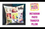 How to DIY Instagram Photo Transfer Pillows...
