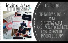 Project Life Family Album & Project Life Layouts from Persnic...
