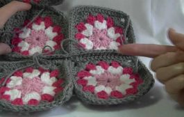 Single Crochet Join Granny Squares Together...