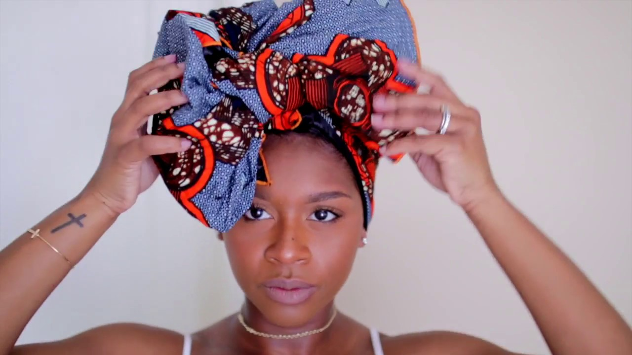 Easy Silk Lined Headwrap Tutorial | Four Different Styles...
