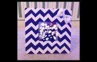 DIY: Chevron Picture Frame...