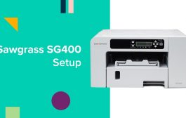 How to Set Up Your Sawgrass SG400/800 Sublimation Printer - Quick...