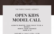 The PARIS CHANEL Agency Open Model Call...