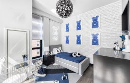 A Boy's Dream Bedroom and a Playroom with Indoor Fort!...