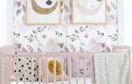 In the His and Her Nursery with Little Adi + Co....