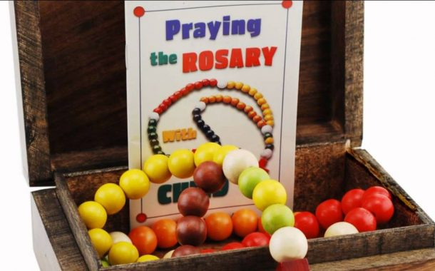 Personalized Kiddie Rosary Gift Set...