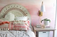 DIY Ombre Wall Mural Tutorial—On Trend and Easy!...