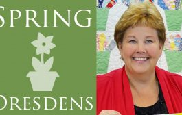 Make a Spring Dresdens Quilt with Jenny Doan of Missouri Star! (V...