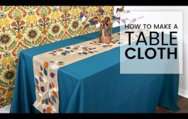 How to Make a Tablecloth...