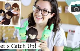 Cute Plushies, Linocut Prints, The Magicians Song Coming - Update...