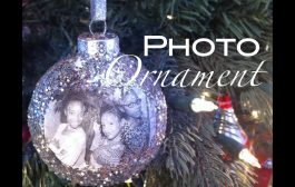 How to make a photo ornament Christmas holiday gift | Nik Scott...