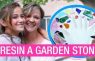How to Make and Protect a Garden Stepping Stone...