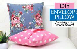 DIY Cushion Covers & Pillow Covers | How to Make a Pillow REA...
