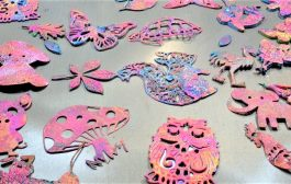 Gelli Printing Adventures:  Delicate Shapes and 2 Successful Prin...
