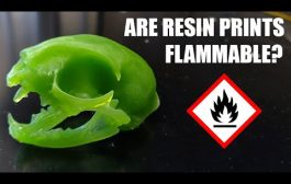 Can Resin 3D Prints Catch Fire? The Results May Surprise You....
