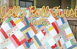 Jelly Roll Twist: Easy Quilting Tutorial – Fat Quarter Shop...