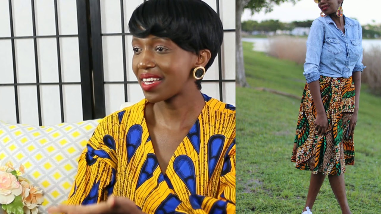 How to Wear African/ Ankara /Kitenge  Clothes with other Prints a...