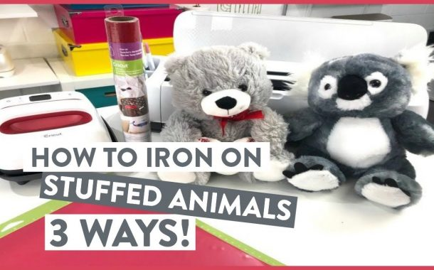 CRAFT WITH ME! HOW TO IRON-ON STUFFED ANIMALS - 3 WAYS!...