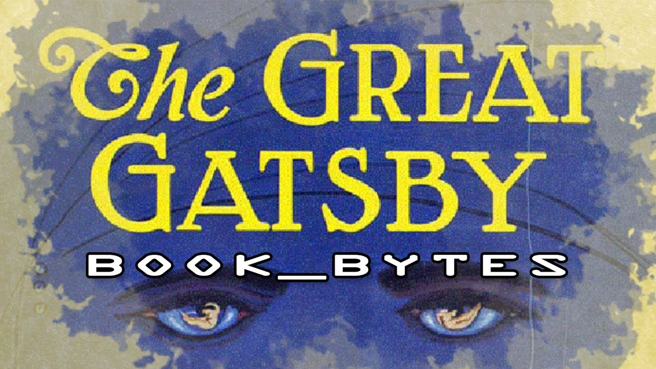book_bytes: The Great Gatsby   The Prints and the Paper...
