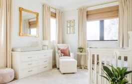 A Neutral and Gold Nursery Design Reveal...