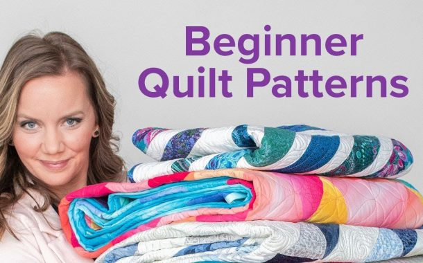 Easy Quilt Patterns for Beginners | 3-Part Beginner Quilting Seri...