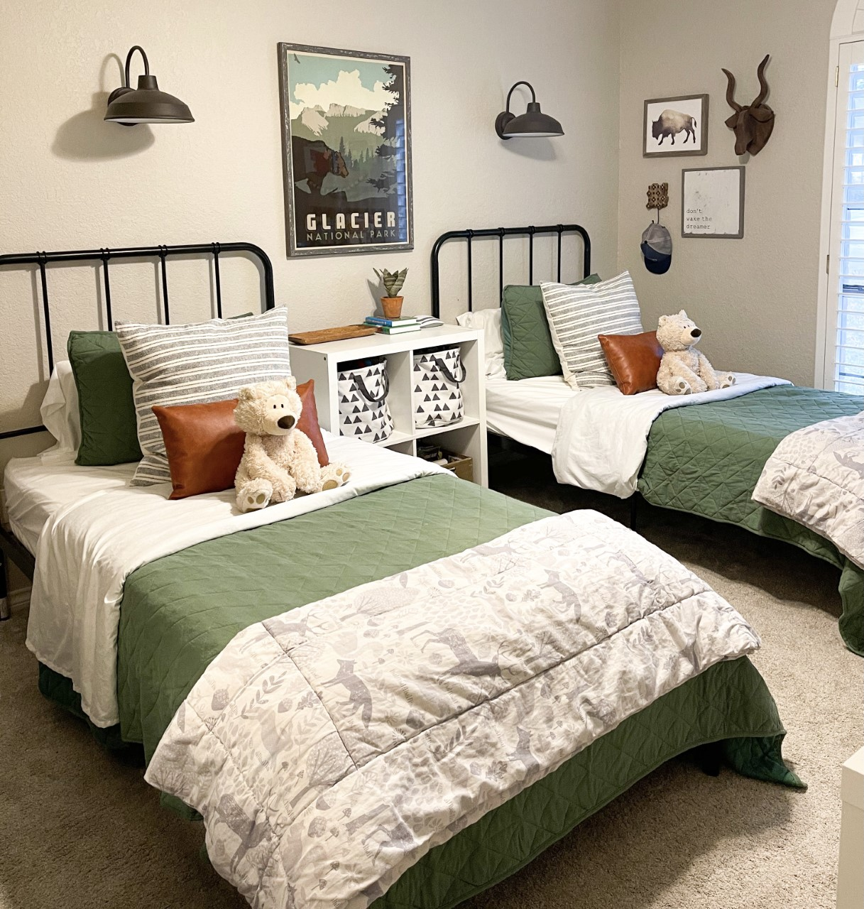 Explore More Travel Themed Shared Boys Room by Meagan Bailey Design