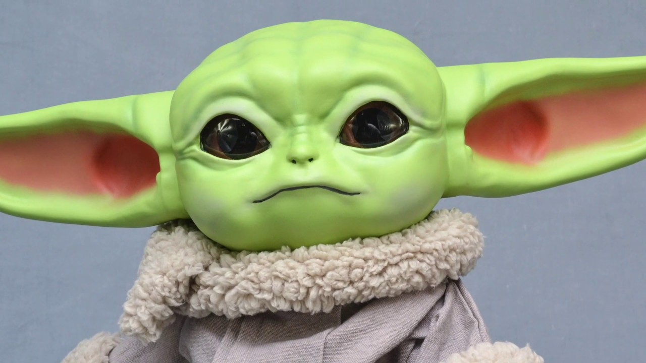 3D Print, Paint, & Sew Baby Yoda - Free Robe Pattern Included...