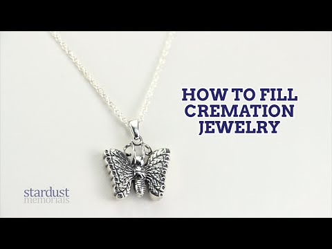 How to Fill Cremation Jewelry | Stardust Memorials...