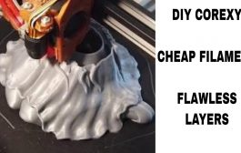 V-Baby DIY CoreXY | AWESOME LAYERS | Print Review...