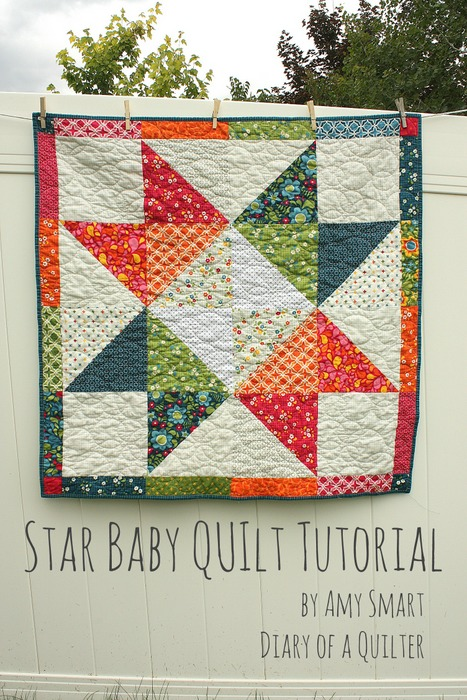 Star Baby Quilt...