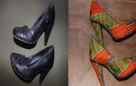 How To Revamp Shoes With Fabric| Youtube Noir...