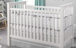 Reversible Crib Liner Gives Baby One View and You Another...