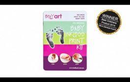 How to take your baby footprints with Baby Made (formerly Belly A...