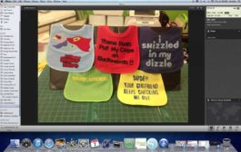 Cutting Fabric With Silhouette Cameo - Baby Bibs...