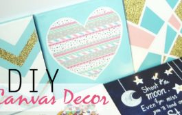DIY: 5 Easy Canvas Decor & Gift Ideas...