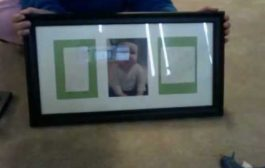 baby hand/foot print frame...